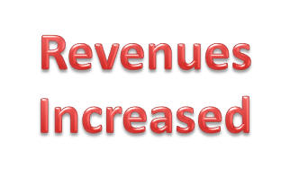 Revenue Increases